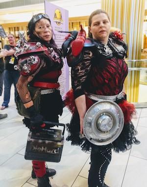 Warrior cosplay at Dragon Con 2019